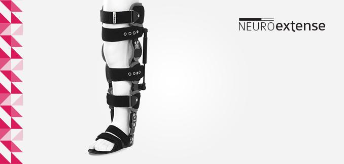 ortezy - ERH 67/1 Aparat szynowo-opaskowy na całą kończynę dolną z sandałem - Neuroextense