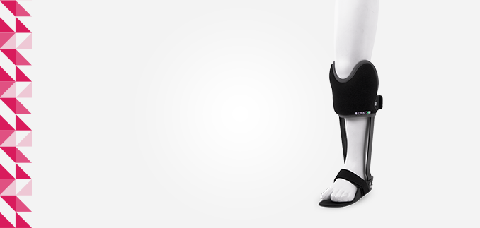 ortezy - ERH 71/1 Aparat do kolana z oparciem podrzepkowym z sandałem GRAFO