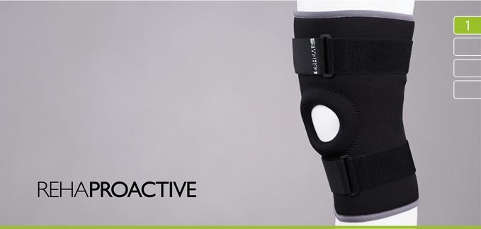 ortezy - ERH 35/R  Stabilizator stawu kolanowego z otworem na rzepkę