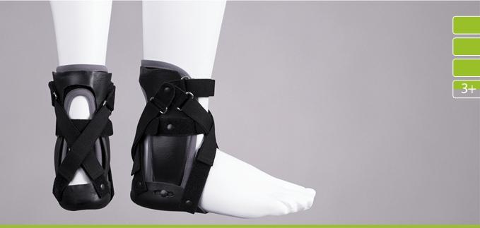 ortezy - ERH 49/3 Aparat tulejkowy na podudzie z sandałem