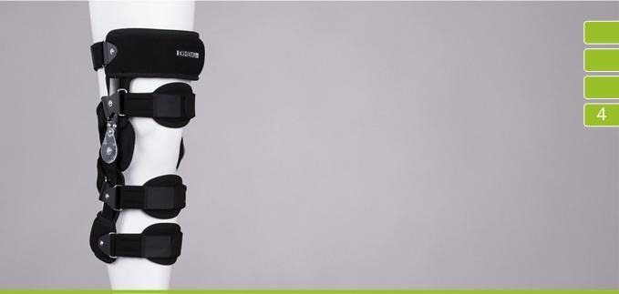 ortezy - ERH 58  Orteza stawu kolanowego szynowo-opaskowa
