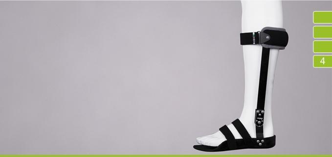 ortezy - ERH 71 Aparat tulejkowy na podudzie z sandałem AFO