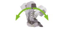 ortezy - Pełny zakres zgięcia i wyprostu stawu