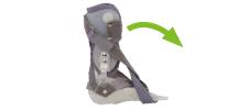 ortezy - Ograniczone zgięcie podeszwowe stopy